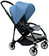 Bugaboo Bee 3 Black Frame Stroller With Grey Melange Seat (Ice Blue) by