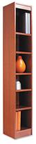 """Alera Narrow Profile 72"""" Standard Bookcase"""
