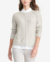 Lauren Ralph Lauren Layered Marled Sweater