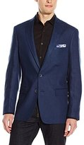 DKNY Men's Daspin Modern Fit 2 Button Side Vent Notch Lapel Jacket