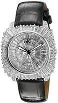 Adee Kaye Women's AK9262-L LIBERTY COLLECTIN Analog Display Analog Quartz Black Watch
