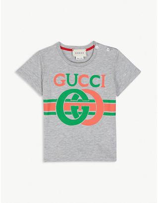 Gucci GG logo cotton T-shirt 3-36 months
