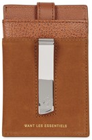 Want Les Essentiels Kennedy Brown Leather Card Holder