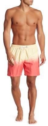 Trunks Surf and Swim CO. Dip-Dye Ombre Swim Shorts