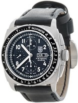 Luminox P38 Lightning Valjoux Chronograph Watch - Leather Strap (For Men)