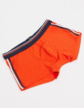 HUGO BOSS comfort orange trunks