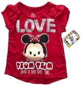 BASSKET.COM Disney Tsum Tsum Little Boys & Girls/Toddler/ Junior Short Sleeve T-shirts (2T- 4T)