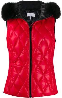 Escada Sport quilted effect vest