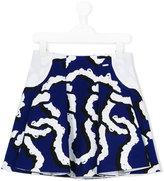 Kenzo printed skirt - kids - Cotton - 4 yrs