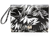 Jason Wu Jourdan Tropical Print Clutch