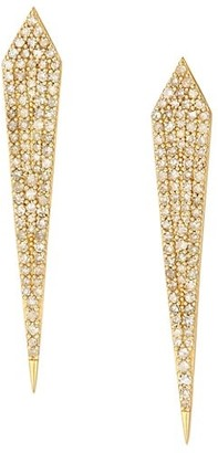 Nina Gilin 14K Yellow Gold & Diamond Dagger Earrings