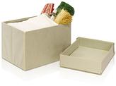 Furinno Ivory Foldable Storage Stool