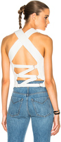 3.1 Phillip Lim Crochet Back Tie Tank