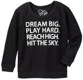 Chaser Dream Big Play Hard Long Sleeve Tee (Toddler & Little Boys)