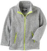 Osh Kosh Spotted Fleece Jacket