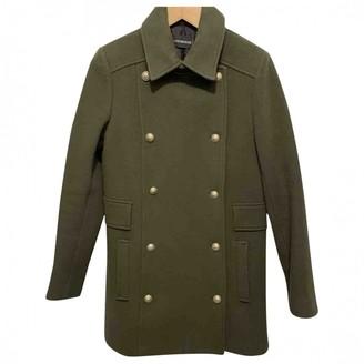 Zadig & Voltaire Khaki Wool Coat for Women