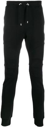 Balmain Ribbed Panels Track Trousers