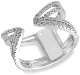 Meira T 14K White Gold & Diamond Cocktail Ring