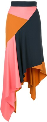 Peter Pilotto Cady Asymmetrical Skirt
