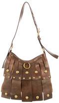 Saint Laurent Leather Fringe Shoulder Bag