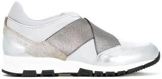 Lanvin Crisscross Strap Sneakers