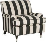 Safavieh Coralia Club Chair, Black/White