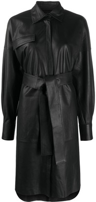 Remain Belted Shirt Dress