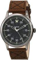 August Steiner Men's AS8125BR Analog Display Swiss Quartz Brown Watch