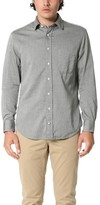 Gitman Brothers Pub Collar Japanese Flannel Mini Bone Shirt