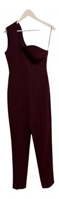 Roksanda Burgundy Polyester Jumpsuits