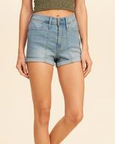 Hollister High-Rise Denim Short-Shorts