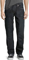 True Religion Straight-Leg Cotton Denim Jeans, Canyon Diablo