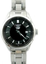 Tag Heuer Carrera WV1414 Stainless Steel with Black Dial 27mm Womens Watch