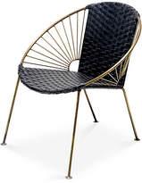 Mexa Ixtapa Lounge Chair - Black Leather