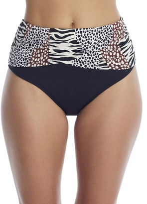 Bleu Rod Beattie Some Like It Hot High-Waist Bikini Bottom