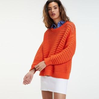 Tommy Hilfiger Oversize Crochet Sweater
