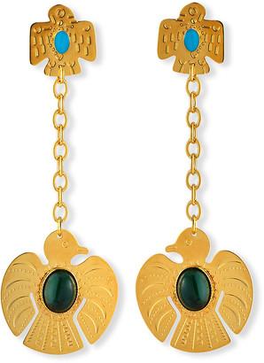 Gas Bijoux Chain Dangle Earrings