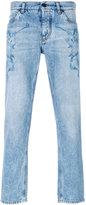 Dolce & Gabbana angel print jeans - men - Cotton/Lyocell - 46