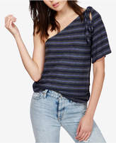 Lucky Brand Striped One-Shoulder Top