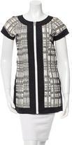 Chanel Patterned Zipped Tunic