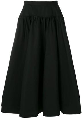Calvin Klein high waisted full skirt