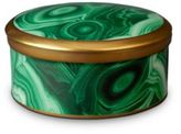 L'OBJET Malachite Round Box