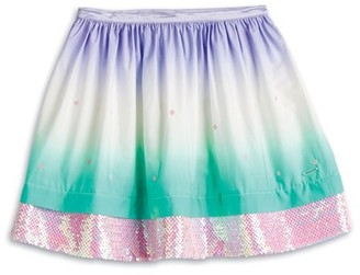 AMERICAN GIRL Truly me - OMBRE WAVES SKIRT FOR GIRLS, L