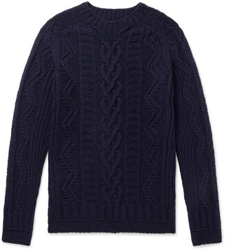 Howlin' Supercult Cable-Knit Virgin Wool Sweater