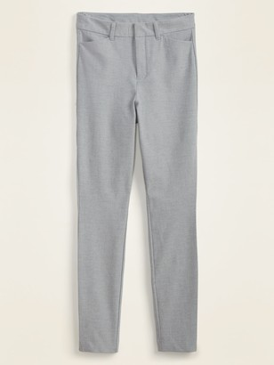 Old Navy High-Waisted Heather-Gray Pixie Ankle Pants for Women