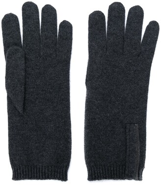 Brunello Cucinelli Cashmere Knitted Gloves