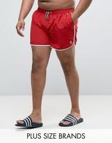 Duke PLUS Swim Shorts In Red