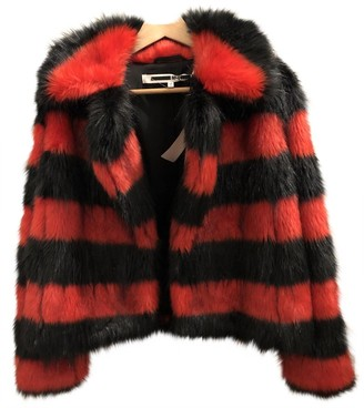 McQ Black Faux fur Jacket for Women