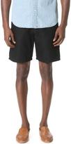 Club Monaco Linen Tie Waist Shorts