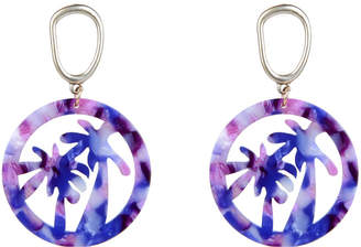 Eye Candy Los Angeles The Luxe Collection Resin Drop Earrings